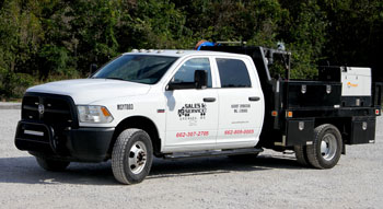 photo of MS Freight Service truck