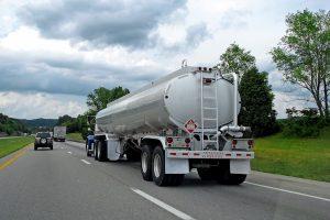 photo of tanker truck
